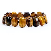 Satyamani Natural Tiger Eye Fine Bracelet For Strength And Success I