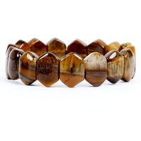 Satyamani Natural Tiger Eye Fine Bracelet For Strength And Success II