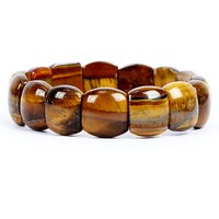 Satyamani Natural Tiger Eye Fine Bracelet For Strength And Success IV