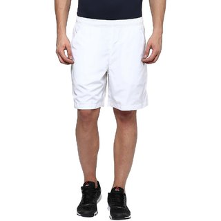Aurro Sports White Performance shorts