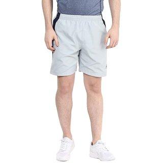 Aurro Sports light grey/navy Victory Shorts