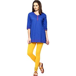 Altamoss Womens Yellow Leggings