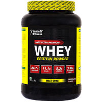 Healthvit 100 Ultra Premium Whey Protein - 1kg/2.2lbs (Chocolate Flavour)