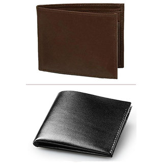 Jack Klein Good Quality Brown Color Leather Wallet And Black Color Leather Wallet For Men
