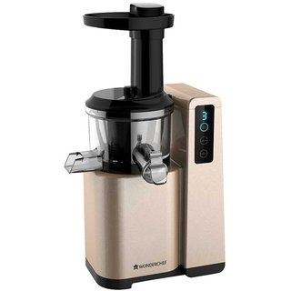 Hurom Slow Juicer Flipkart : Wonderchef Cold Press Slow Juicer Digital available at ShopClues for Rs.10799
