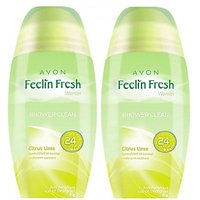 Avon Feelin Fresh Citrus Lime Rod Combo Pack (40G Each) Deodorant Roll-On - For Women, Girls (80 G)