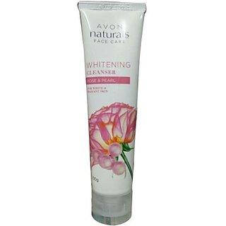 Avon Naturals Rose Pearl Whitening Cleanser (100 G)