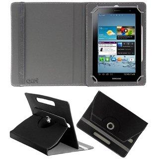 CHEETA PU Leather Book Cover For  Samsung Galaxy Tab 3 Lite 7.0 (Black)