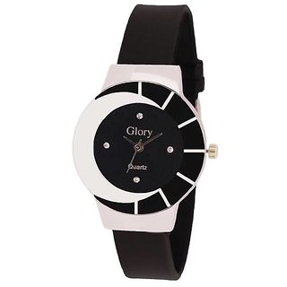 Steal Deal Flat Glass Analog Watch For The Girls