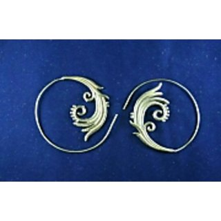 BRASS Traditional EARRING