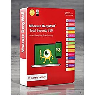 MSECURE DENYWALL TOTAL SECURITY 360 - 3 USER LICENCE - 500 DAYS VALIDITY
