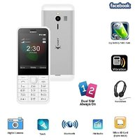 Ssky N230 Dual Sim GSM With Facebook Multimedia Camera Mobile Phone