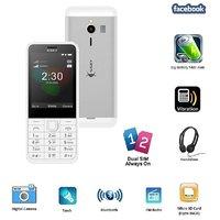 Ssky N230 Dual Sim GSM With Facebook Multimedia Camera Mobile Phone