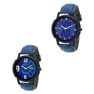 Oura Analog Casual Ware Watch For Men Combo Of 2pc