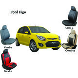 Shopper's Hub Car Seat Covers For Ford Figo - Coral