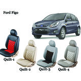 Shopper's Hub Car Seat Covers For Ford Figo - Quilt