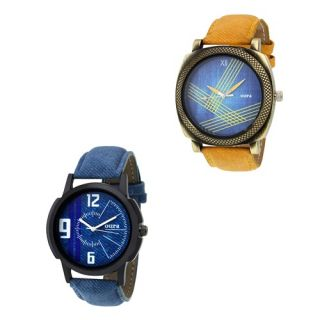 Oura Analog Casual Ware Watch For Men Pack Of 2pc