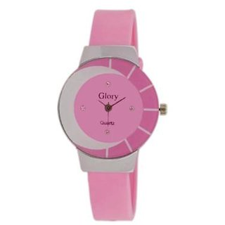 Latest Flat Glass Analog Watch For The Women