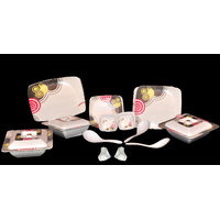Geeta Diamond Square 44 Pcs Melamine Dinner Set LE-GDS-004
