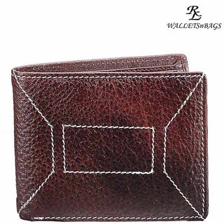 Ndm Stitch Mens Wallet - Brown (W 11)