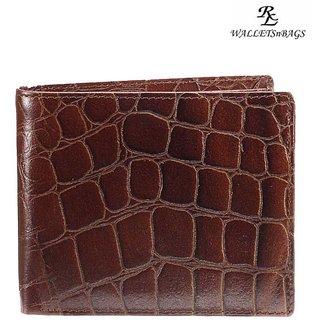 WalletsnBags Crocoprint Mens Wallet (W 21)