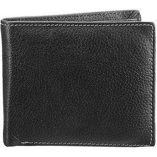Finemilled Mens Wallet-Black (W 23)