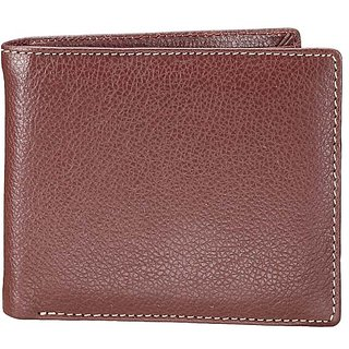 Finemilled Mens Wallet - Brown (W 23)