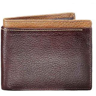 Alpha Mens Wallet - Brown (W 25)