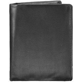 WalletsnBags Note Sleeve Mens Wallet - Black (W 30)