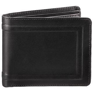 WalletsnBags Oillpullup Mens Wallet -Black (W 5)