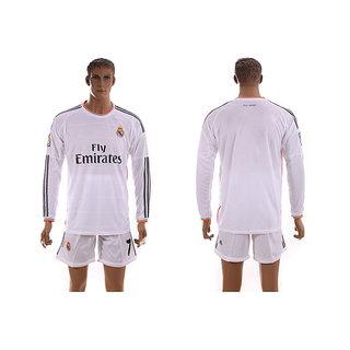 Navex Footbal Jersey Club Real Madrid White FULL Sleeve Ket XL