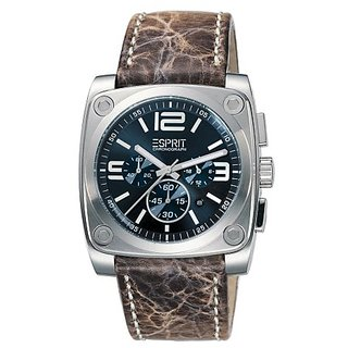 Esprit Gents Watch Retro Chique Brown Chrono 4359755