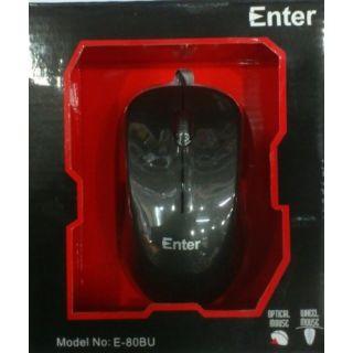Enter Usb Mouse E-80BU