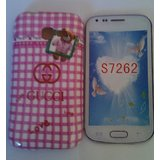 New Fancy Designer Silicone Back Case Cover For Samsung Galaxy Star Pro S7262