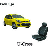 Shopper's Hub Car Seat Covers For Ford Figo - U Cross