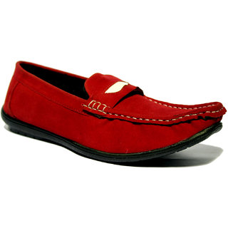 Roxxii Classy Red Men Casual Shoes