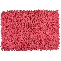 SNARC Pink Colored Traditional  Designer 100 Pure Cotton Export Quality Rugs (60 X100 Cm.) Pack Of 5, By CHC.