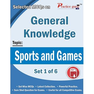 Selected MCQs on GK  - Sports and Games Set 1 of 6