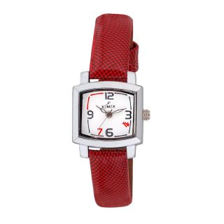 Xemex White Dial Analog Synthetic Leather Watch For Women's