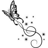 Chipakk Butterfly Swirl- Black (Medium)