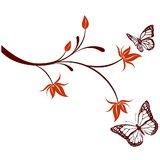 Chipakk Natural Butterfly - Maroon (Medium)