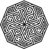 Chipakk Delicate Motif 1- Black (Small)