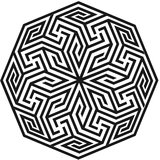Chipakk Delicate Motif 1- Black (Medium)