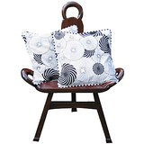 Elements Swirls Of Happiness Cushion Covers - Set Of 2 Pcs