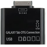 5 In 1 Usb Card Reader Writer Otg Camera Connection Kit For Samsung Galaxy Tab P7500 P7510 P7300 P7310 P6200 P6210