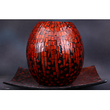 Terro Art Mop / Wooden Decorative Showpiece / Candle Stand / Potpourri Td-2403