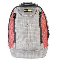 Spenz Red Grey Laptop Backpack TD-1442