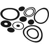 Chipakk Abstract Circles - Black (Medium)