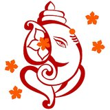Chipakk Ganesha 1 - Maroon (Medium)