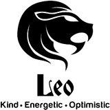 Chipakk Leo Zodiac Decal - Black (Small)